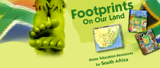 Footprints on Our Land - South African Homeschool Curriculum