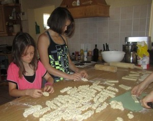 South African Recipes - making koeksisters
